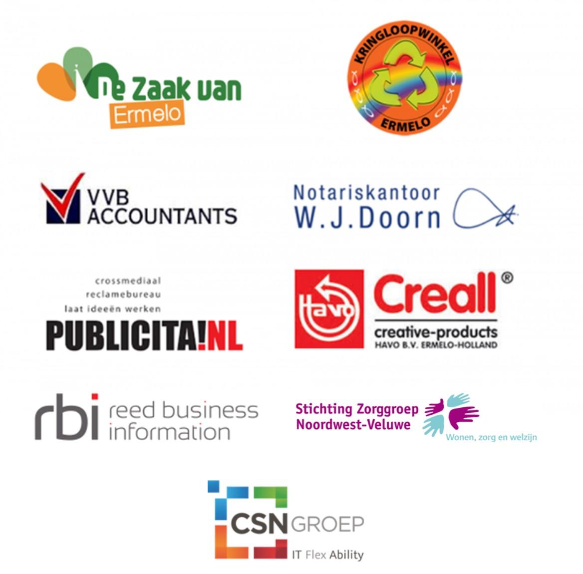 Logo's sponsors
